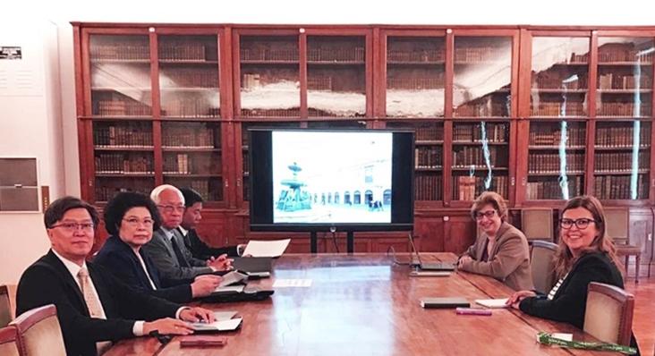 คณาจารย์คณะเภสัชศาสตร์ ได้รับเกียรติฐานะแขกกิตติมศักดิ์เยือนมหาวิทยาลัยปอร์โต้ ประเทศโปรตุเกส